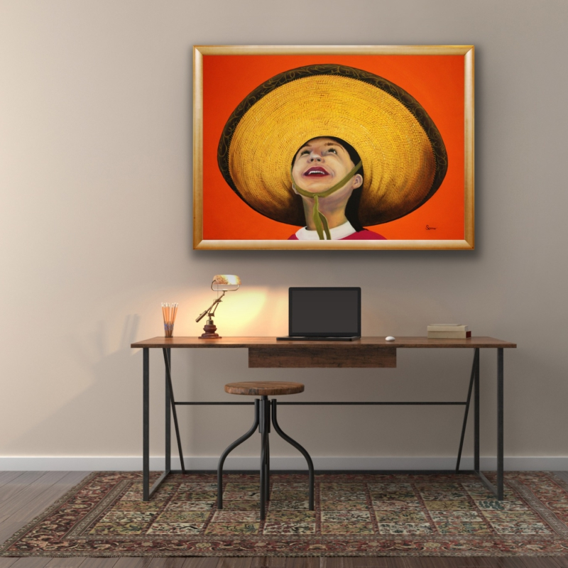 0111 Give Me Your Smile, 2009 | oil on canvas, 70 x 100 cm, 250 EUR