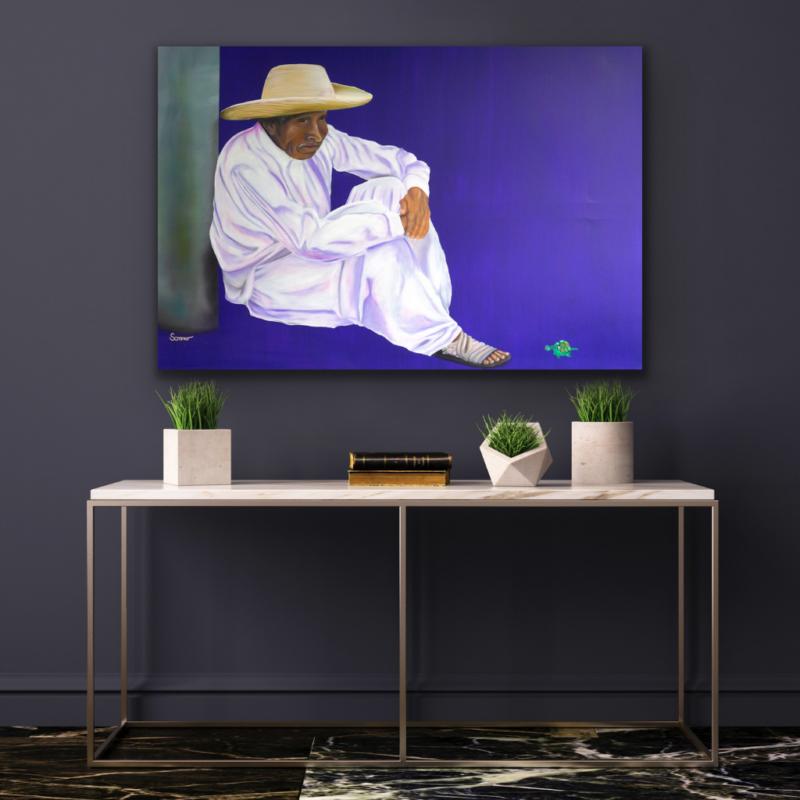0120 El Viejito, oil on canvas | 80 x 120 cm, 2010, 300 EUR